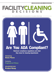 Facility Cleaning Decisions November/December Magazine