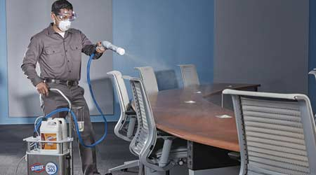 Case Study: Electrostatic Sprayer Provides Complete Surface Disinfection