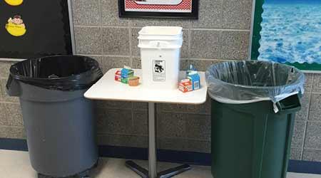 A Team Effort Keeps Schools Clean