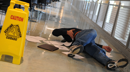 The Cost Of Slips And Falls For Facilities