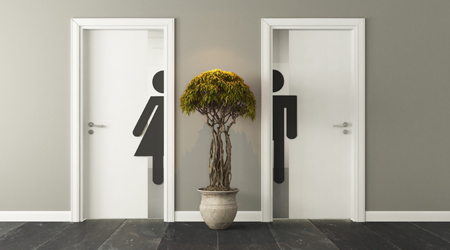 Densification Of Offices Creating Restroom Problems