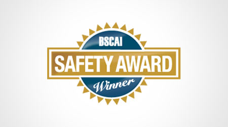 BRAVO! Earns Sixth BSCAI Safety Award