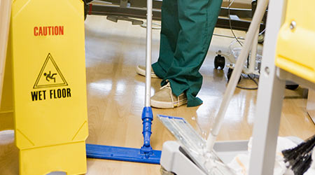 Environmental Service Workers Called Unsung Heroes Of Healthcare