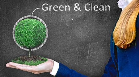 Industry Experts Talk Green Cleaning