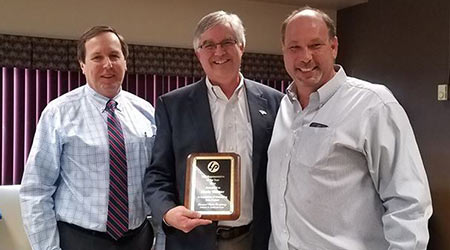 Leonard Paper Company Names Rep Of The Year