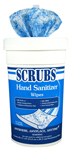 SCRUBS Hand Sanitizer Wipes