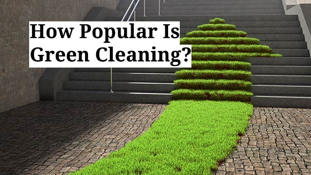 How Popular Is Green Cleaning?