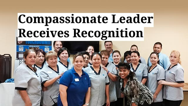 Compassionate Leader Receives Recognition