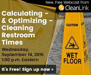 CL Restroom Care Webcast, learn more >