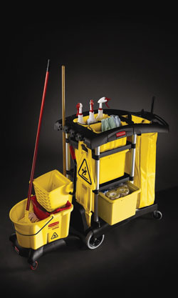 Learn About Cleaning Cart From Rubbermaid Commercial Products