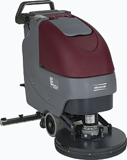 E20 walk-behind automatic scrubber: Minuteman International Inc.