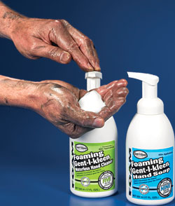 Learn About Foaming Waterless Hand Cleaner From Gent L
