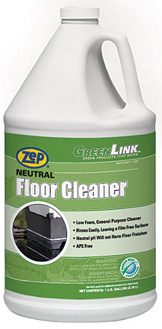 Learn About Greenlink Neutral Floor Cleaner From Zep Inc