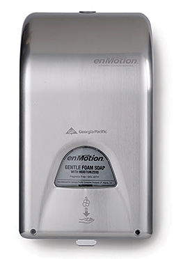 Learn about enMotion Automated Touchless Soap and Sanitizer