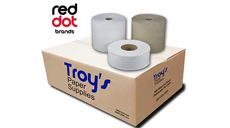 Green Paper and Soap: RedDot Brands