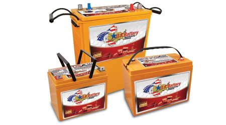 line of AGM batteries: U.S. Battery
