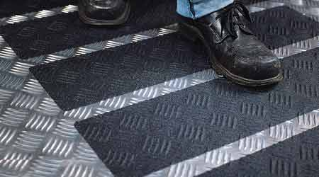 Learn about: Safety-Walk Slip-Resistant Tapes and Treads