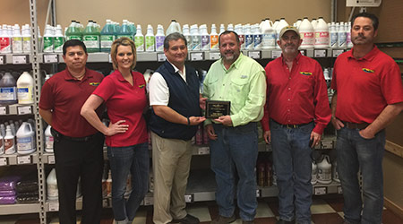 West Texas Fire & Industrial Supply Names 2016 Vendor Representative of the Year