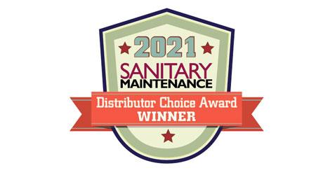 logo of 2021 Sanitary Maintenance Distributor Choice Award winners