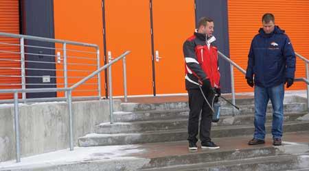 Stadium Experiences Success From Ice Melt Solution