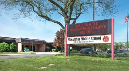 School within Prospect Heights School District 23