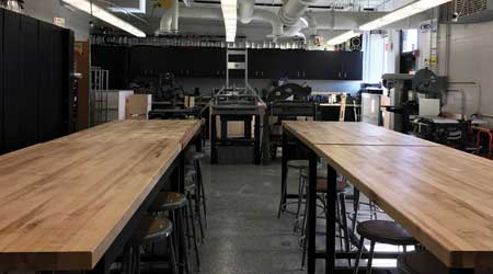 Clean workshop within Prospect Heights School District 23