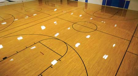 Simple Solution Revitalizes Gym Floor