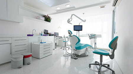 Modern dental cabinet office
