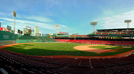 Built in 1912, beautiful Fenway Park is one of the best known and most historic landmarks in the city of Boston