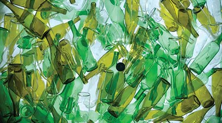 Recycling glass