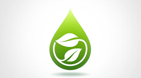 fresh and natural, save green concept