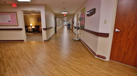 Senior Living Community Solves Acoustic Challenges With Resilient Flooring