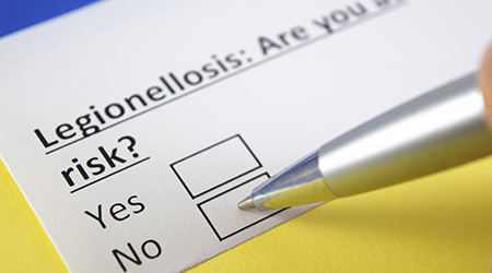 Legionellosis: Are you at risk? yes or no