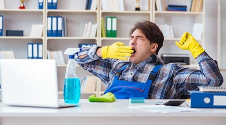 Custodians Found Napping Puts Focus On Worker Fatigue