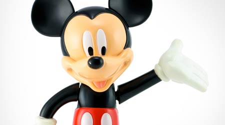 Mickey mouse from Disney character