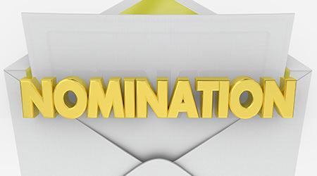 Nomination Envelope Award Finalist Announcement