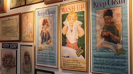 """Museum Showcases """"The Soap Story"""" With New Exhibit"""