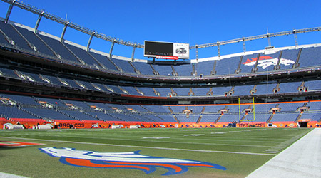 Sports Authority Field at Mile High in Denver Colorado