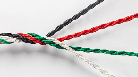 Strength in unity - an idea. UAE national day conceptual background