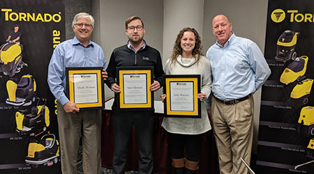 Tornado Industries Recognizes The Henson Sales Group