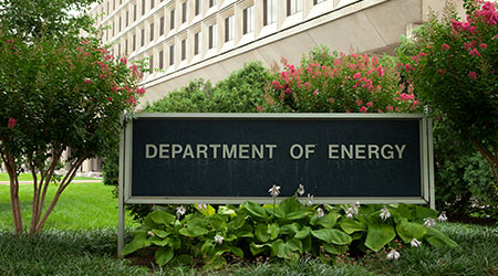 Department of Energy in Washington, DC