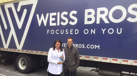 Janet Weachter Named Weiss Bros. 2017 Vendor Representative Of The Year
