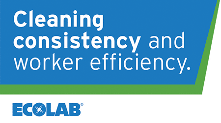 Cleaning consistency and worker efficiency - Ecolab
