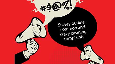 bullhorn yelling cleaning complaints