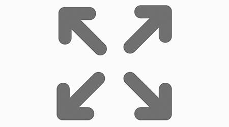 Resize symbol