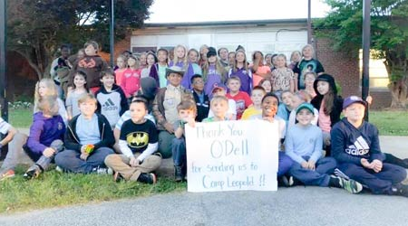 O'Dell Supports Wildlife Education