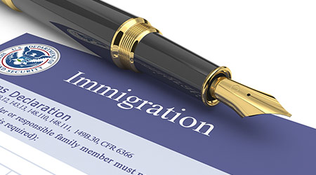 A legal document used for immigration purposes