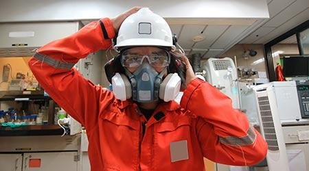 Multi-purpose respirator half mask for toxic gas protection