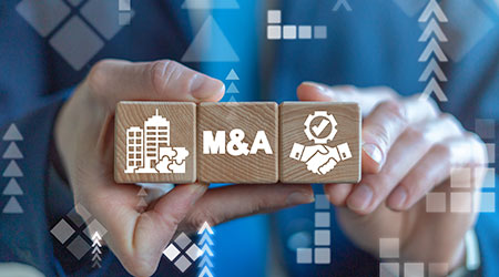 Merger and Acquisition Business Corporate Cooperation Company concept