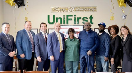 UniFirst Employee Celebrates 50-Year Work Anniversary